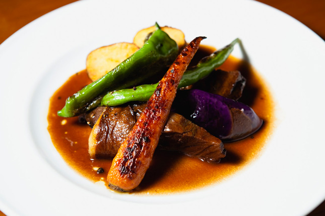 Restaurant Watabeの料理