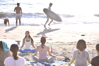 SHONAN BEACH YOGA WEEK 2019 in HAYAMA 5th anniversary