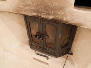 暖炉のある家なんて夢のよう。もちろん実際に使用OK。