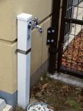 外水道があるので水やりにも便利。