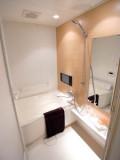 バスルームにはテレビがあり、ついつい長風呂なんてことも。