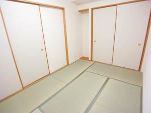 モダンな和室は客間として使うのにもピッタリ。