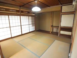 1階の和室は個室として使っても、コミュニティスペースにしても。
