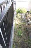2階から見下ろしたお庭の図。