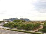 江ノ島がこんなに間近に見えるというのはとても贅沢。