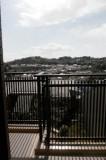 南向きバルコニーからの眺望。