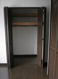 主寝室のクローゼット