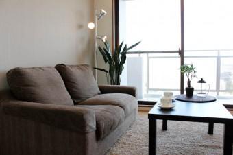 家具付きだからすぐに新生活OK。
