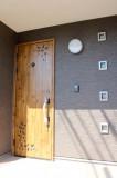 こんなにかわいいドア、いい!