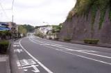 自転車専用道路があるのは鎌倉では珍しい。