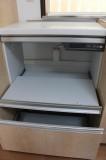 蒸気排出ユニット付きだから炊飯器を置いても平気。