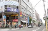 駅前にはチェーン店もたくさん。
