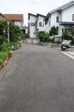 幅約4.5mの道路が家の目の前まで