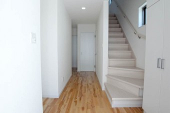 この階段のつくりはレア。