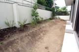 植栽スペースもあり。