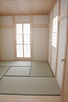 板の間付きの4.5帖和室