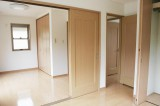 2ドアで仕切れる10.1帖洋室