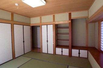 本格的な和室は年配のゲストにも喜ばれそう。