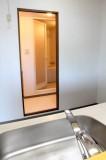 キッチンから洗面所に通り抜けるから家事効率アップ!