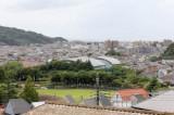 第一総合運動公園が見える。