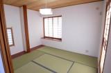 1階にある本格的な和室。