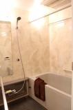 ゴージャス系のバスルーム。