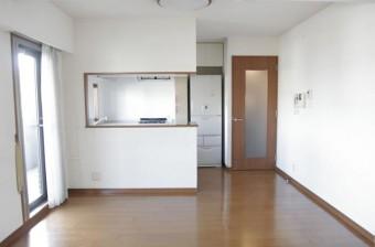 フルオープン対面キッチン