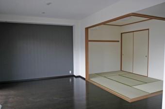 リビング横の6帖和室